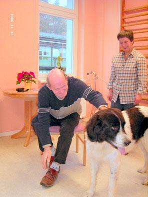 welch aufgaben haben therapiehunde